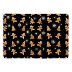 Ginger Cookies Christmas Pattern Apple Ipad Pro 10 5   Flip Case by Valentinaart