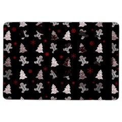 Ginger Cookies Christmas Pattern Ipad Air 2 Flip by Valentinaart