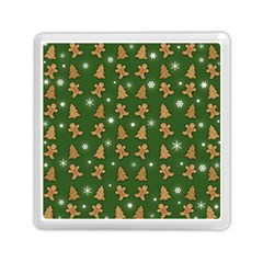 Ginger Cookies Christmas Pattern Memory Card Reader (square)  by Valentinaart