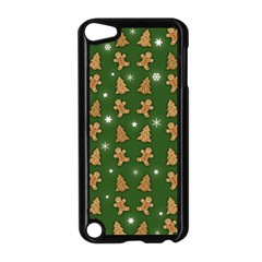 Ginger Cookies Christmas Pattern Apple Ipod Touch 5 Case (black) by Valentinaart