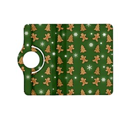 Ginger Cookies Christmas Pattern Kindle Fire Hd (2013) Flip 360 Case by Valentinaart