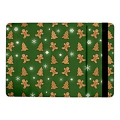Ginger Cookies Christmas Pattern Samsung Galaxy Tab Pro 10 1  Flip Case by Valentinaart
