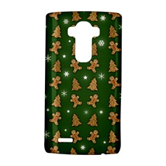 Ginger Cookies Christmas Pattern Lg G4 Hardshell Case by Valentinaart