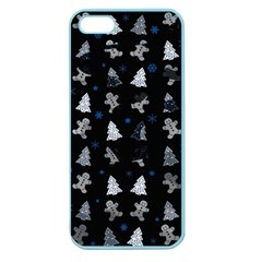 Ginger Cookies Christmas Pattern Apple Seamless Iphone 5 Case (color) by Valentinaart