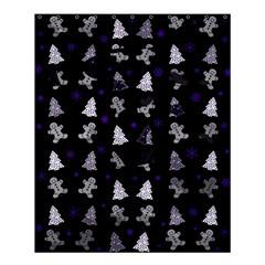 Ginger Cookies Christmas Pattern Shower Curtain 60  X 72  (medium)  by Valentinaart