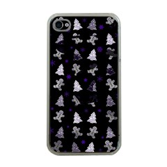Ginger Cookies Christmas Pattern Apple Iphone 4 Case (clear) by Valentinaart
