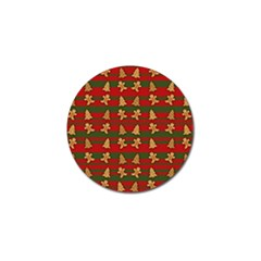 Ginger Cookies Christmas Pattern Golf Ball Marker (4 Pack) by Valentinaart
