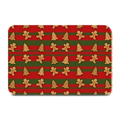 Ginger Cookies Christmas Pattern Plate Mats by Valentinaart