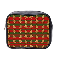 Ginger Cookies Christmas Pattern Mini Toiletries Bag 2 Side by Valentinaart