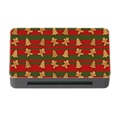 Ginger Cookies Christmas Pattern Memory Card Reader With Cf by Valentinaart