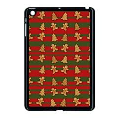 Ginger Cookies Christmas Pattern Apple Ipad Mini Case (black) by Valentinaart