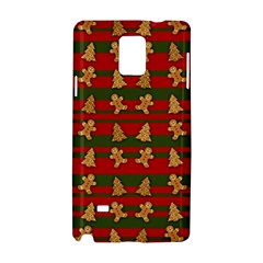 Ginger Cookies Christmas Pattern Samsung Galaxy Note 4 Hardshell Case by Valentinaart