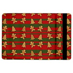 Ginger Cookies Christmas Pattern Ipad Air 2 Flip by Valentinaart