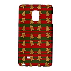 Ginger Cookies Christmas Pattern Galaxy Note Edge by Valentinaart