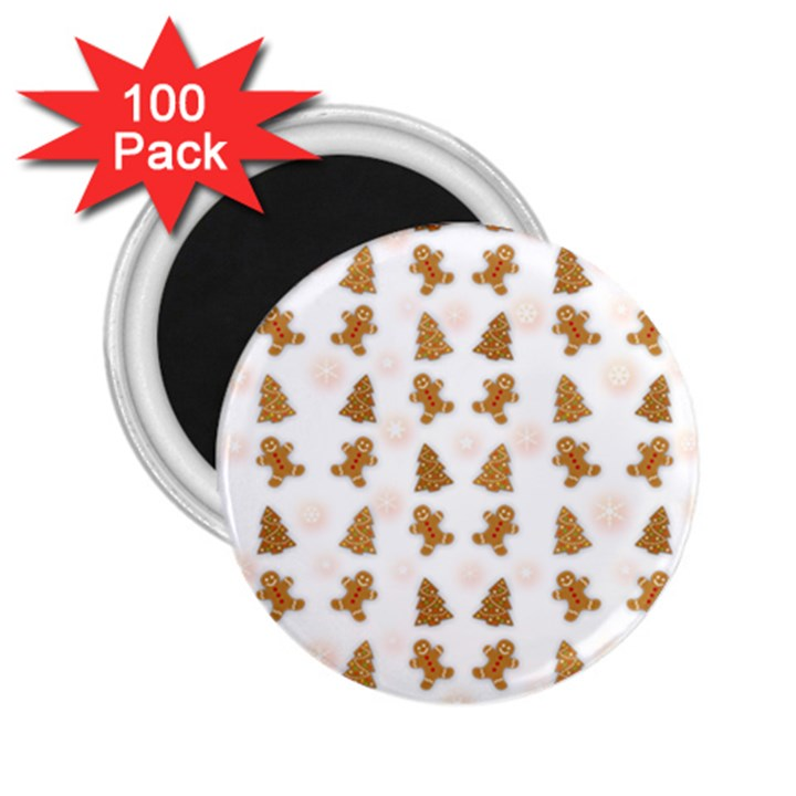 Ginger cookies Christmas pattern 2.25  Magnets (100 pack)