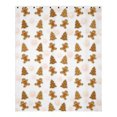 Ginger Cookies Christmas Pattern Shower Curtain 60  X 72  (medium)  by Valentinaart