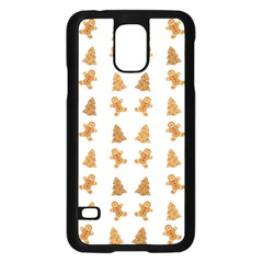 Ginger Cookies Christmas Pattern Samsung Galaxy S5 Case (black) by Valentinaart