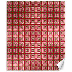 Christmas Paper Wrapping Paper Canvas 20  X 24   by Onesevenart