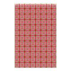Christmas Paper Wrapping Paper Shower Curtain 48  X 72  (small)  by Onesevenart