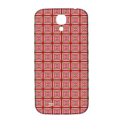 Christmas Paper Wrapping Paper Samsung Galaxy S4 I9500/i9505  Hardshell Back Case by Onesevenart