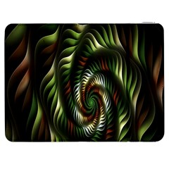 Fractal Christmas Colors Christmas Samsung Galaxy Tab 7  P1000 Flip Case by Onesevenart