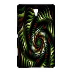 Fractal Christmas Colors Christmas Samsung Galaxy Tab S (8 4 ) Hardshell Case  by Onesevenart