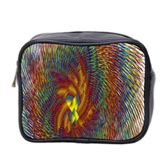 Fire New Year S Eve Spark Sparkler Mini Toiletries Bag 2 Side by Onesevenart