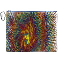Fire New Year S Eve Spark Sparkler Canvas Cosmetic Bag (xxxl) by Onesevenart