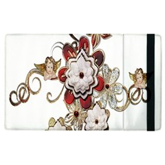 Gems Gemstones Jewelry Jewel Apple Ipad 3/4 Flip Case by Onesevenart