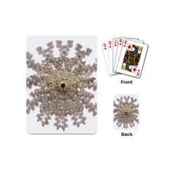 Gold Golden Gems Gemstones Ruby Playing Cards (mini)  by Onesevenart