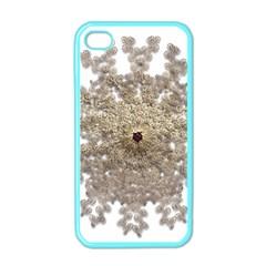 Gold Golden Gems Gemstones Ruby Apple Iphone 4 Case (color) by Onesevenart