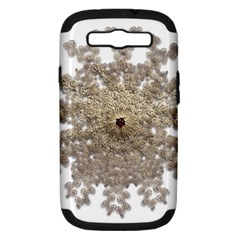 Gold Golden Gems Gemstones Ruby Samsung Galaxy S Iii Hardshell Case (pc+silicone) by Onesevenart