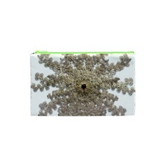 Gold Golden Gems Gemstones Ruby Cosmetic Bag (xs) by Onesevenart