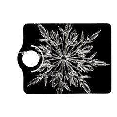 Ice Crystal Ice Form Frost Fabric Kindle Fire Hd (2013) Flip 360 Case by Onesevenart