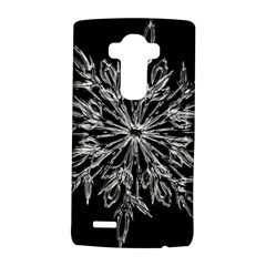 Ice Crystal Ice Form Frost Fabric Lg G4 Hardshell Case by Onesevenart