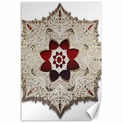 Jewelry Jewel Gems Gemstone Shine Canvas 20  X 30   by Onesevenart