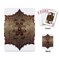Jewelry Jewel Gem Gemstone Shine Playing Card by Onesevenart