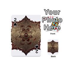 Jewelry Jewel Gem Gemstone Shine Playing Cards 54 (mini)  by Onesevenart