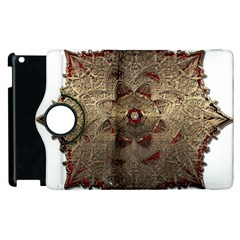 Jewelry Jewel Gem Gemstone Shine Apple Ipad 3/4 Flip 360 Case by Onesevenart