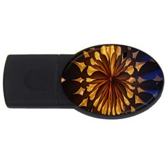 Light Star Lighting Lamp Usb Flash Drive Oval (4 Gb) by Onesevenart