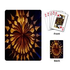 Light Star Lighting Lamp Playing Card by Onesevenart
