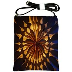 Light Star Lighting Lamp Shoulder Sling Bags by Onesevenart