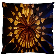 Light Star Lighting Lamp Large Cushion Case (two Sides) by Onesevenart