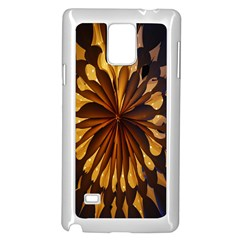Light Star Lighting Lamp Samsung Galaxy Note 4 Case (white) by Onesevenart