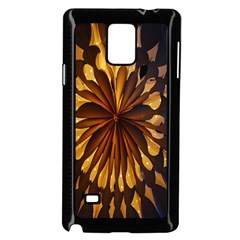Light Star Lighting Lamp Samsung Galaxy Note 4 Case (black) by Onesevenart
