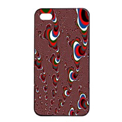 Mandelbrot Fractal Mathematics Art Apple Iphone 4/4s Seamless Case (black) by Onesevenart