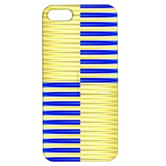 Metallic Gold Texture Apple Iphone 5 Hardshell Case With Stand by Onesevenart