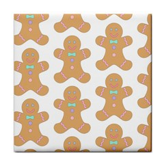 Pattern Christmas Biscuits Pastries Face Towel by Onesevenart