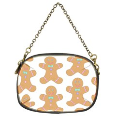 Pattern Christmas Biscuits Pastries Chain Purses (two Sides)  by Onesevenart