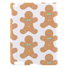Pattern Christmas Biscuits Pastries Apple Ipad 3/4 Hardshell Case by Onesevenart